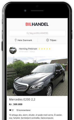 Bilhandel app